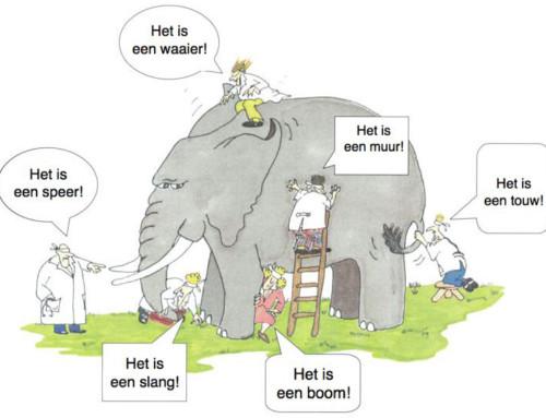 Het huwelijk van Business, IT en olifant
