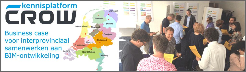 Business case voor interprovinciaal samenwerken aan BIM-ontwikkeling
